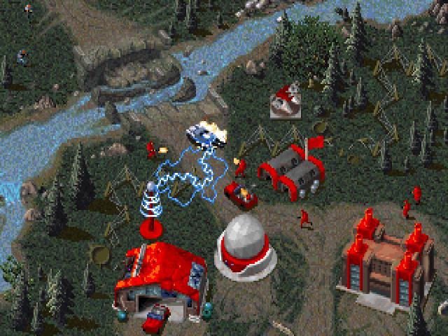 Red Alert: schermata di gioco