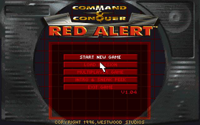 Home originale di Red Alert