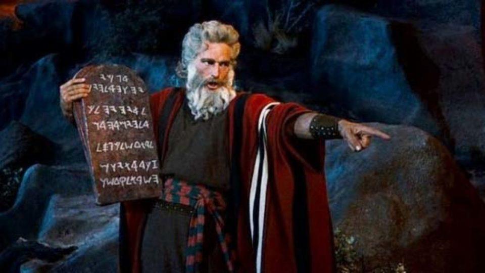 Mosè e i Comandamenti